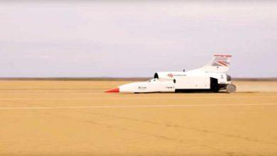 Photo of Süpersonik araç Bloodhound hız rekoru kırdı