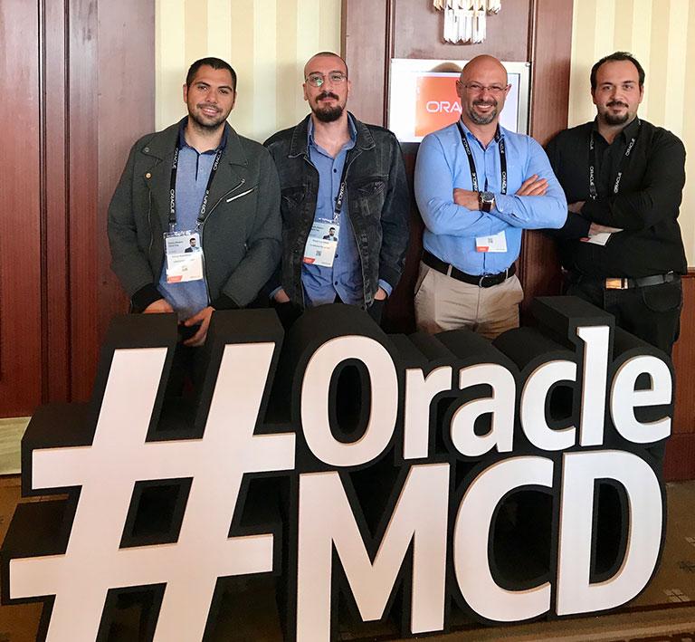 Creditwest yazılım ekibi, Oracle