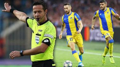 Photo of APOEL Türk hakeme itiraz etti, UEFA kabul etti