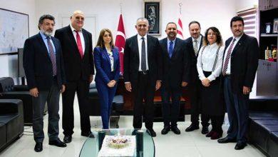 Photo of Çavuşoğlu, YÖDAK heyeti ile görüştü