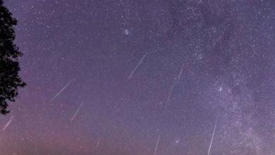 Photo of Yüzyılda 4 kere gözlenen Unicorn meteor yağmuru, dün gece gerçekleşti