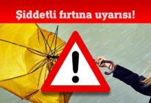 Photo of Meteoroloji Dairesi'nden fırtına uyarısı!