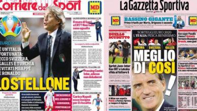 Photo of EURO 2020 kuraları İtalyan basınında: İtalya şanslı, bundan iyisi olamazdı