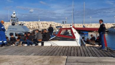 Photo of 44 mülteci deniz ve kara yoluyla güneye ulaştı