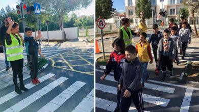 Photo of Lefkoşa Özel Eğitim ve İş Eğitimi Merkezi öğrencilerine Trafik Eğitimi verildi