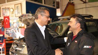 Photo of Erhürman KIB-TEK ve Lefkoşa Sanayi Bölgesini ziyaret etti