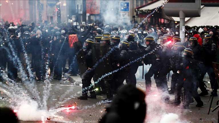 Fransa, grev, eylem