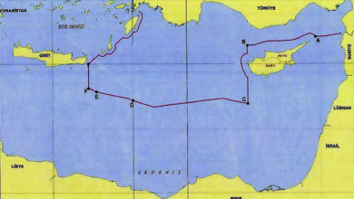 Photo of Türkiye'nin Doğu Akdeniz'deki kıta sahanlığı ve MEB sınırları paylaşıldı