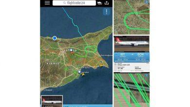 Photo of Uçak Ercan üzerinde 13 tur attı