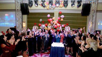 Photo of Çalışanlarla yeni yılı kutladılar