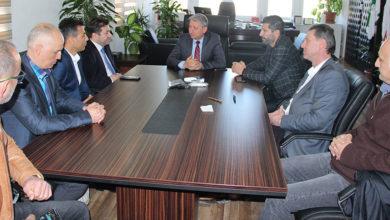 Photo of Özbilgehan, Suat Çelen'i kabul etti