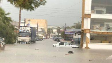 Photo of Lefkoşa Sanayi Bölgesi yine sular altında kaldı