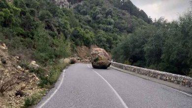 Photo of Kantara yoluna kaya düştü
