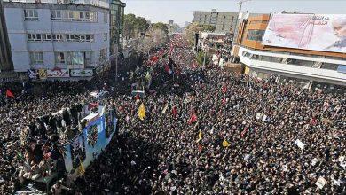 Photo of Süleymani'nin cenazesindeki izdihamda 40 kişi öldü, 213 kişi yaralandı