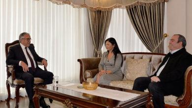 Photo of Cumhurbaşkanı Akıncı, Havadis Gazetesi yöneticilerini kabul etti