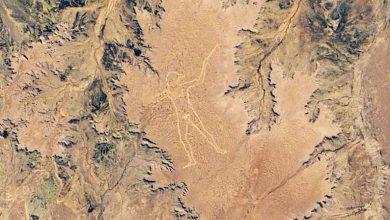 Photo of NASA, 3,5 kilometrelik gizemli sanat eserinin uydu fotoğrafını paylaştı