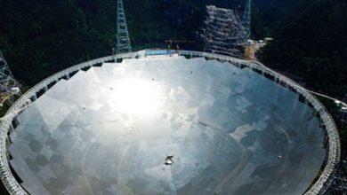 Photo of 30 futbol sahası büyüklüğündeki Çin'in dev teleskobu resmen faaliyete geçti