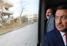 Photo of Türkiye Cumhurbaşkanı Yardımcısı Fuat Oktay, Kapalı Maraş'ı ziyaret etti