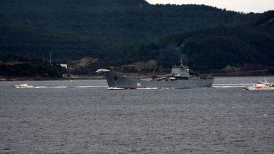 Photo of Rus savaş gemisi 'Orsk' Akdeniz'e iniyor!