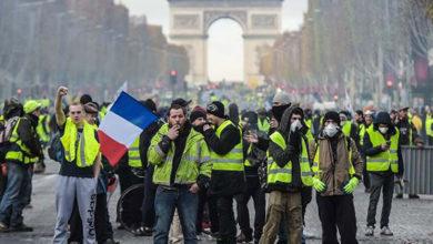 Photo of Fransa'da Sarı Yelekler yine sokaktaydı: 32 kişi gözaltına alındı