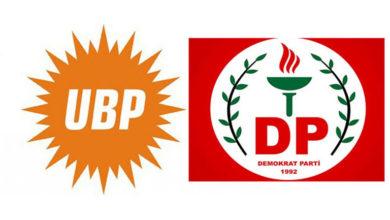 Photo of UBP'den DP'ye ziyaret