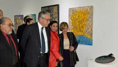 Photo of Akıncı Taşkent Doğa Parkı yararına düzenlenen serginin açılışını yaptı