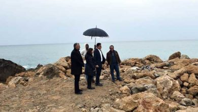 Photo of Kayalar Balıkçı Barınağı'ndaki tadilat çalışmalarında sona doğru