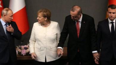 Photo of Merkel ve Macron Putin'i aradı, Erdoğan'la zirve önerdi