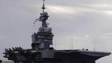 Photo of Avrupa'nın en büyük savaş gemisi Limasol limanına demirledi