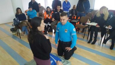 Photo of Sivil Savunma personeline temel ilk yardım eğitimi