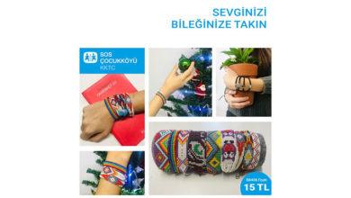 Photo of SOS Çocukköyü Derneği yararına hazırlanan bileklikler satışa sunuldu