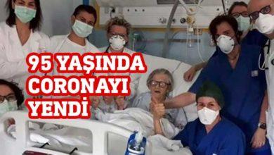 Photo of 95 yaşında corona virüsü yendi