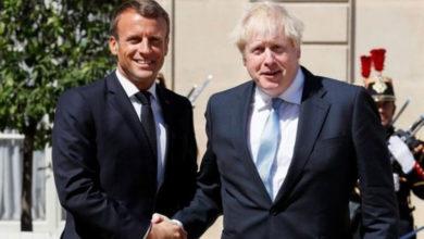 Photo of Macron ve Johnson, İdlib'i ve Koronavirüs'ü görüştü
