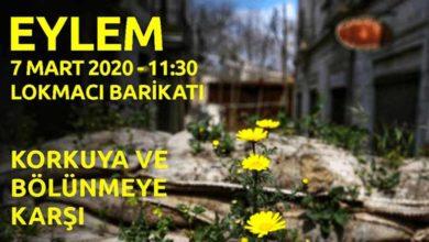 Photo of Lokmacı'da eylem düzenleniyor