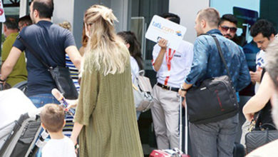Photo of KKTC'de bulunan tüm turistler, ülkelerine gönderiliyor