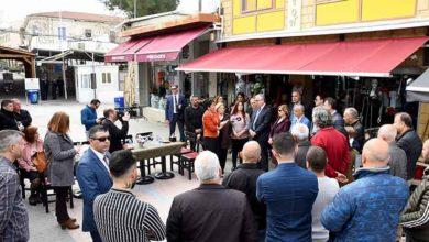Photo of Akıncı Arasta'yı ziyaret etti