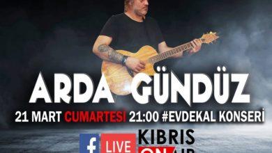 Photo of #EvdeKal konserlerinde yarın Arda Gündüz