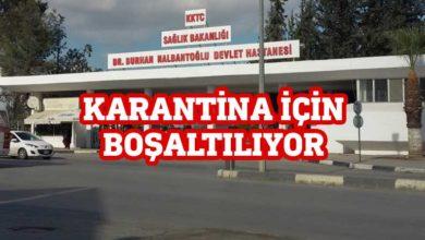 Photo of Dr Burhan Nalbantoğlu karantina hastanesine dönüştürülüyor