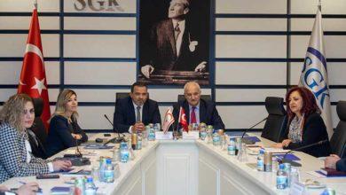 Photo of Çalışma Bakanlığı ekibi Türkiye'de temaslarda bulundu