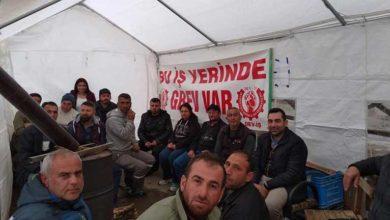 Photo of Büyükkonuk Belediyesi'ndeki süresiz grev 4. gününde