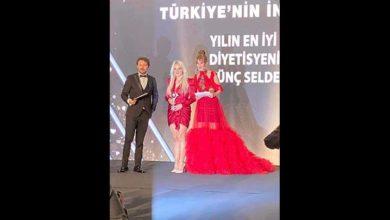 Photo of Diyetisyen Övünç Selden'e İstanbul'da gururlandıran ödül