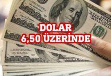 Photo of Dolar 6,60 sınırında