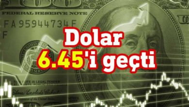 Photo of Dolar 6.45'i geçti