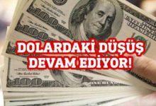 Photo of Doların sert düşüşü devam ediyor