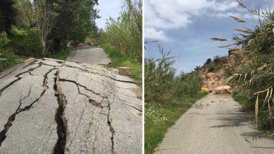 Photo of Esentepe-Mezarlık yolu kullanılamaz halde
