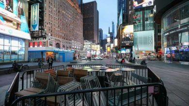 Photo of New York sokaklarında corona virüs sessizliği