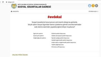 Photo of Sosyal Sigortalar Dairesi'nde online ödeme dönemi
