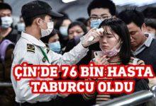 Photo of Çin'de Kovid-19 hastalarının yüzde 93'ü iyileşti