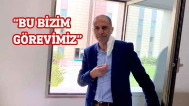 """Photo of Özersay, """"İçiniz rahat olsun"""""""