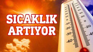 Photo of Ülke genelinde sıcaklık yükselecek